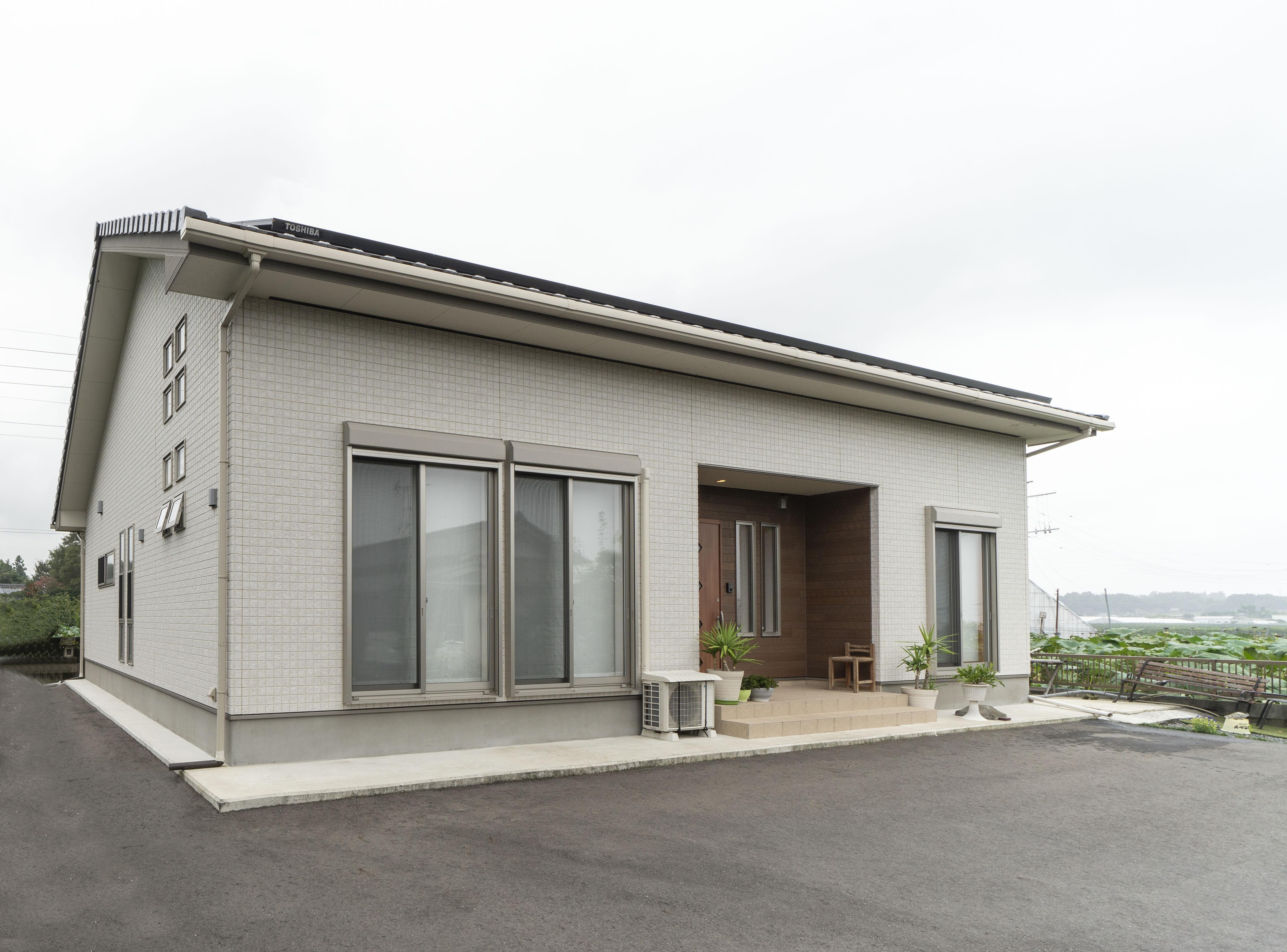 シンプルな新築平屋