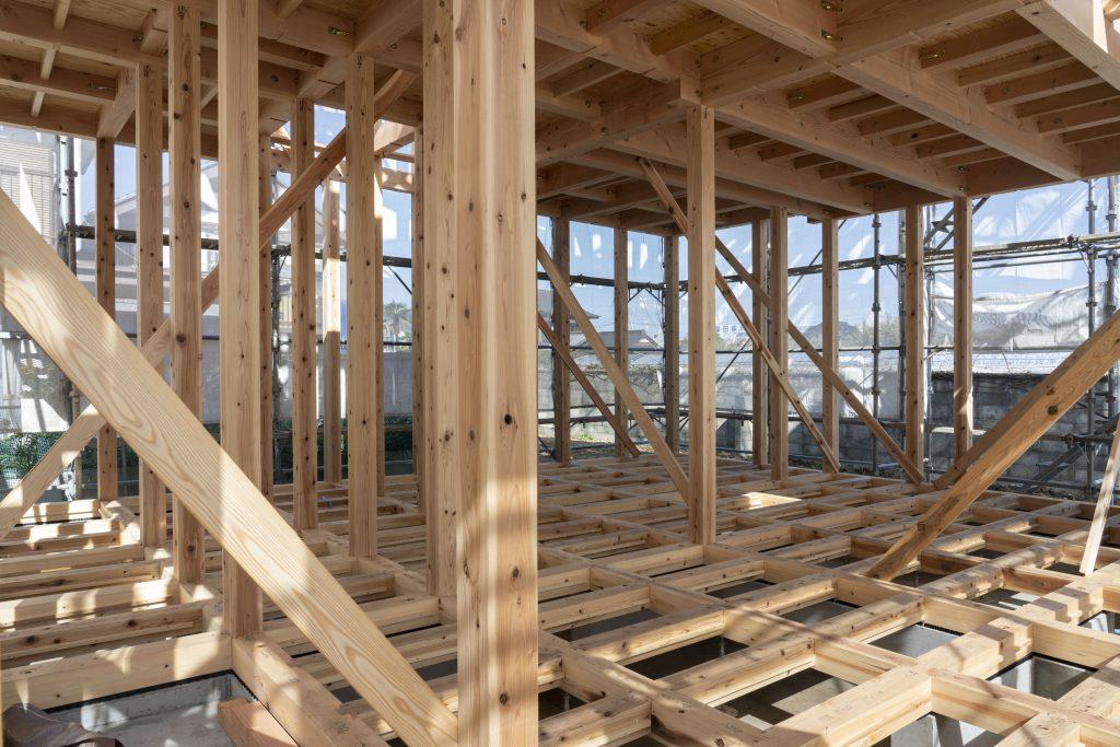 土台や柱が丈夫な長持ちする家