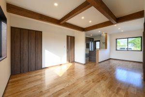 木造住宅の内装