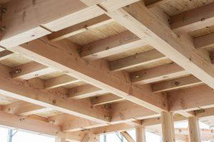 木造住宅の天井裏