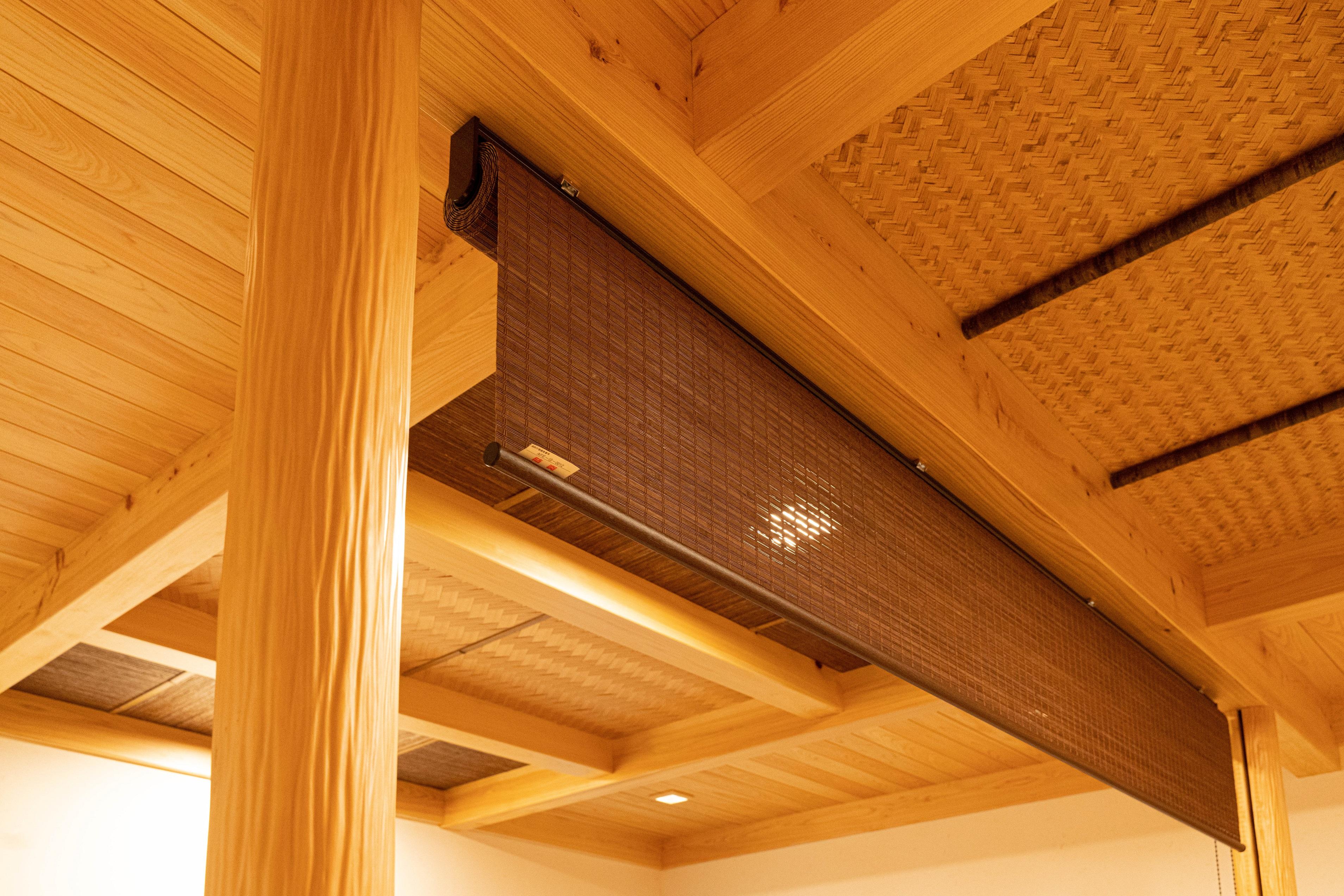 無垢の家の天井