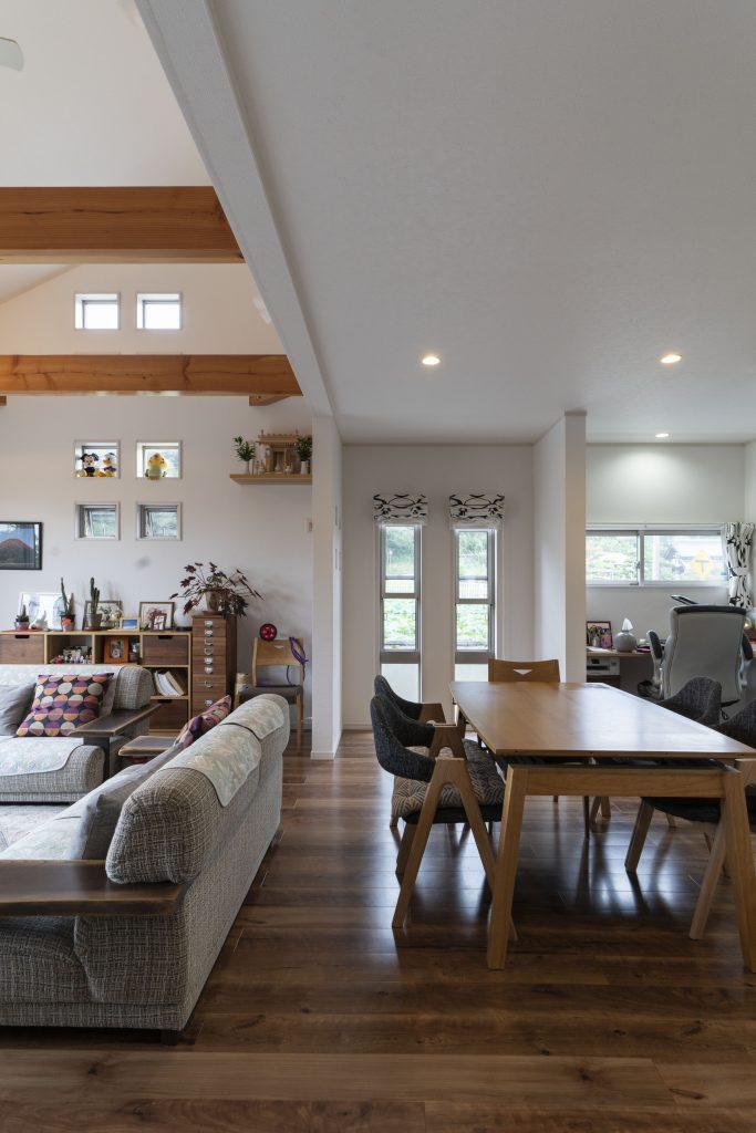 平屋の建築実例:平屋の空間づくりは立体的にすると広々と使える