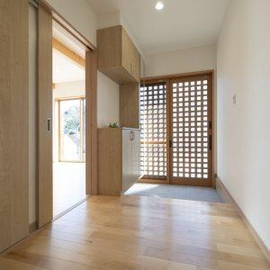 木の家の建築実例:内観