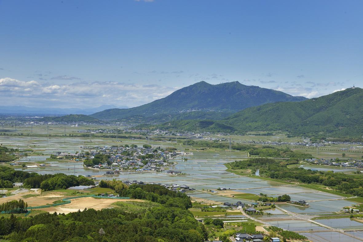 茨城県南の田園風景