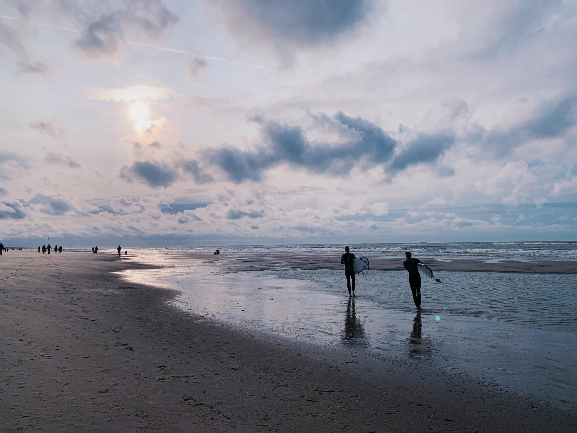 茨城の海はサーフィンにも最適