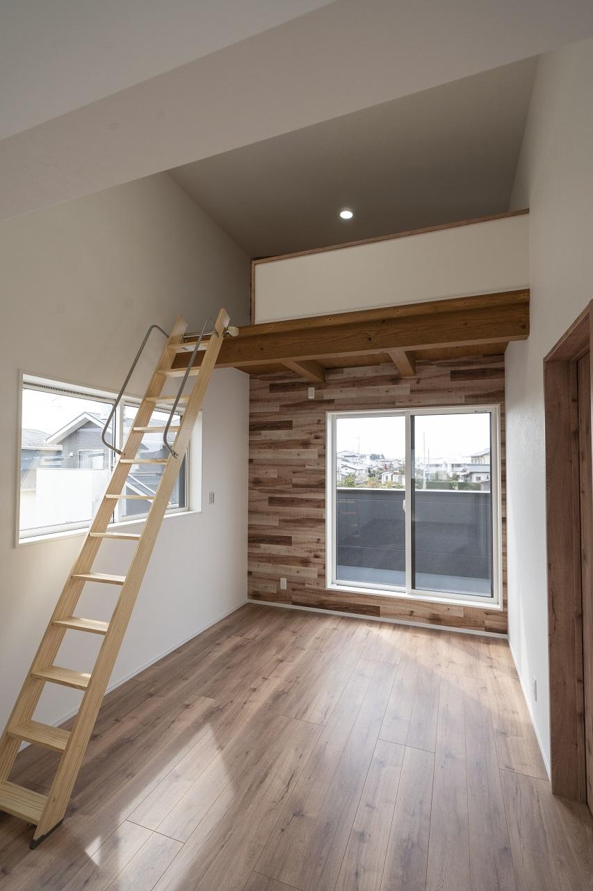 居室のロフト空間