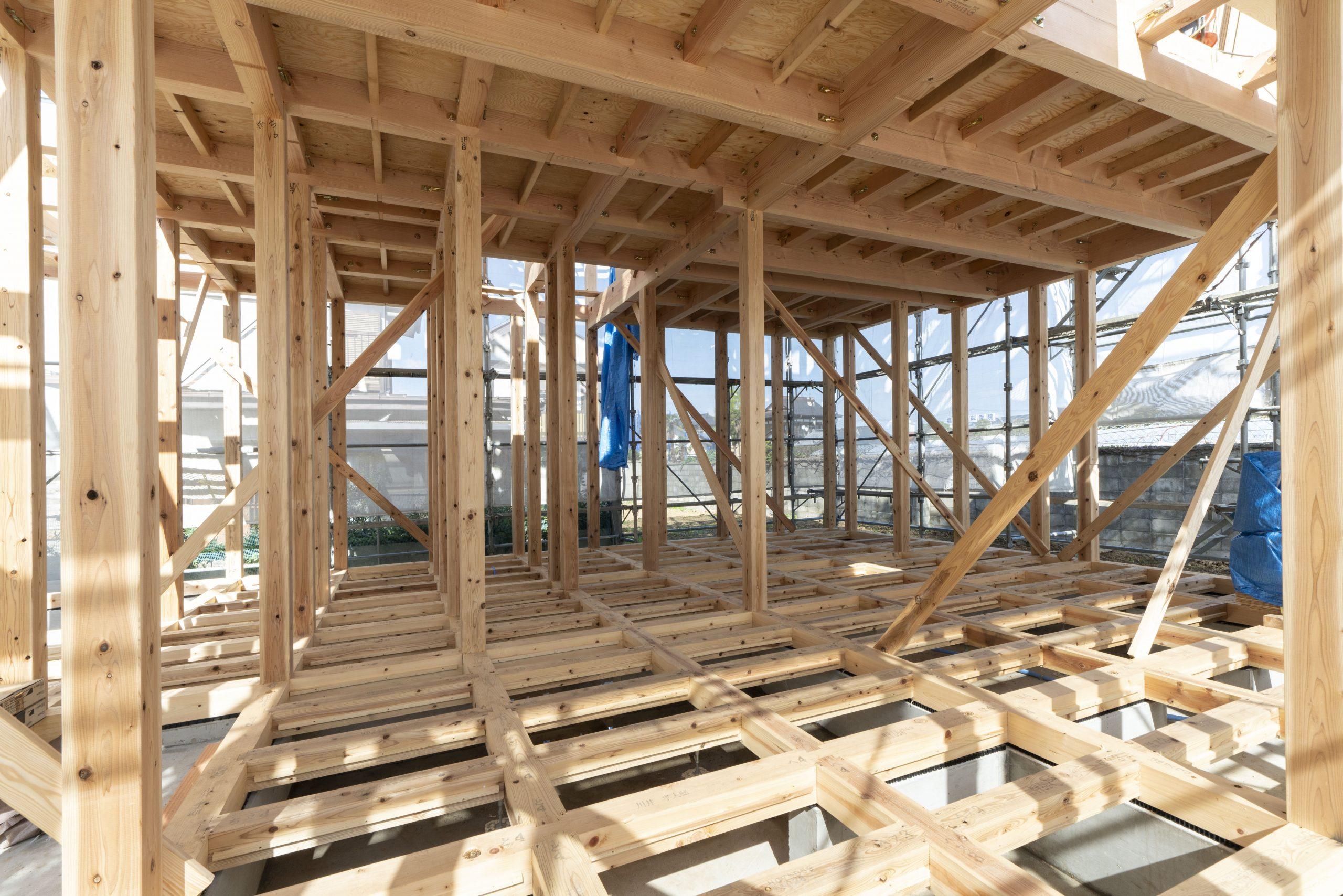 木造軸組工法の構造
