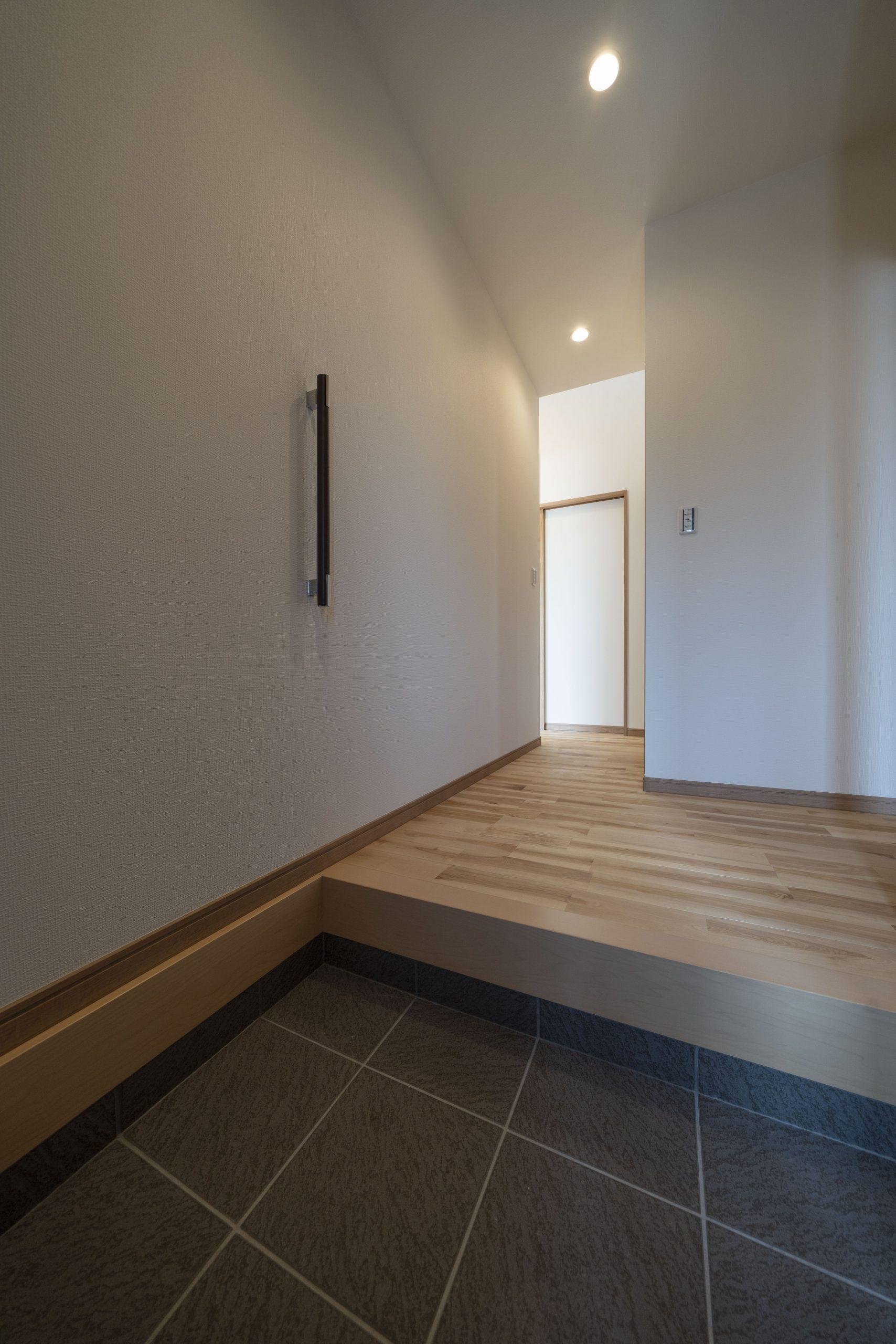 段差が小さい玄関上がり框